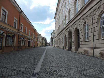 Caminando por el centro de la ciudad
