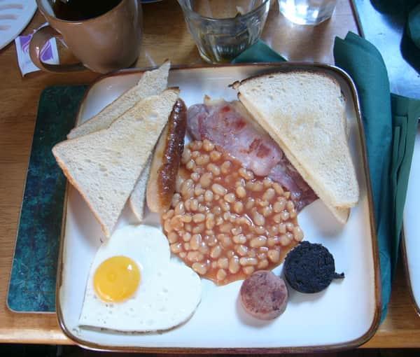 Desayuno en Dublín