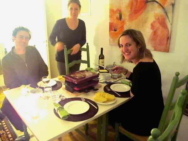 Raclette en Zúrich (Foto: skandal00)