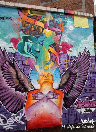 Streetart de Bogotá