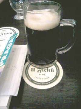Cerveza U Fleku Praga