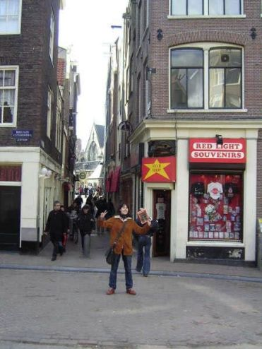Barrio Rojo Ámsterdam