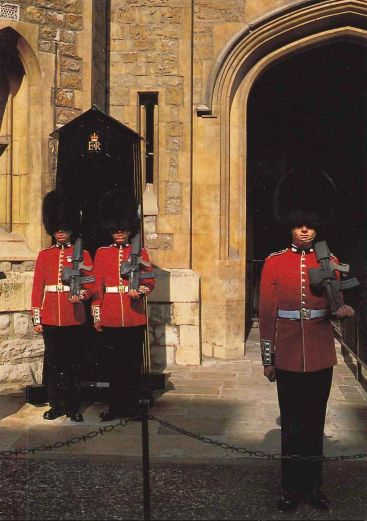 Guardia Real Londres Inglaterra