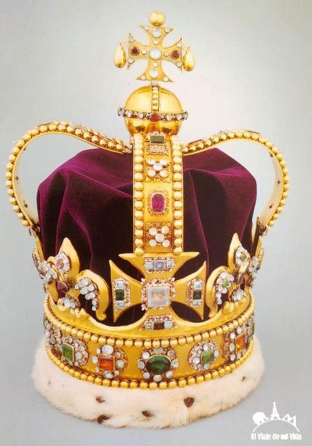 Las joyas de la corona británica (Postal)