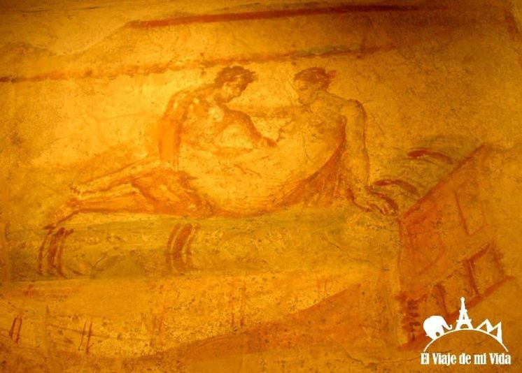 Los frescos del Lupanar