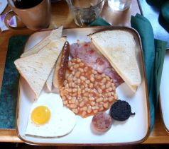 Desayuno irlandés Durban House Dublín