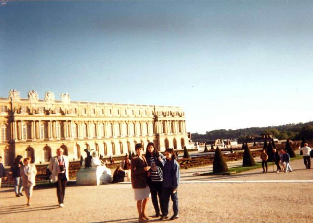 Castillo de Versailles París