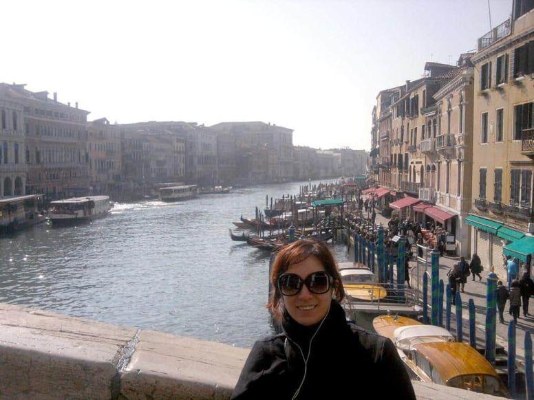 Puente de Rialto Venecia Italia