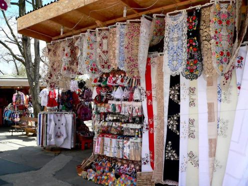 Bordados florales Budapest Hungría