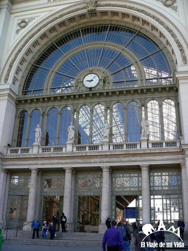 La estación central de Budapest