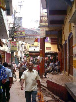 Calles de Varanasi