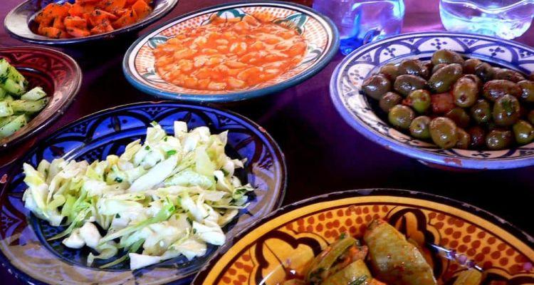 Gastronomía Marrakech Marruecos