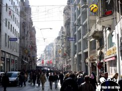 La calle Istiklal