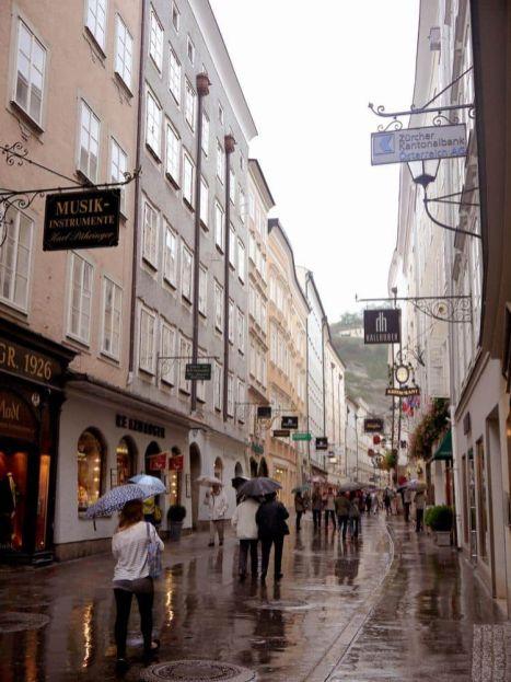 Calles Salzburgo Austria