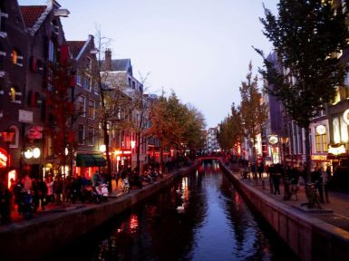 Canales Barrio Rojo Ámsterdam