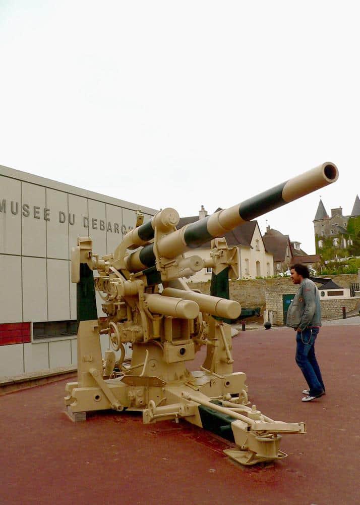 Museo Desembarco Aromanches Normandía