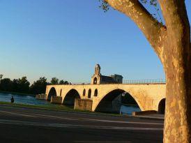 Puente Aviñón Francia