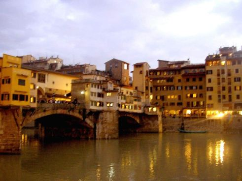 Ponte Vecchio Florencia Italia