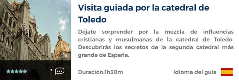 Visita guiada por la Catedral de Toledo
