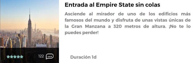 Entrada al Empire State