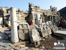 Ruinas de las calles de Éfeso