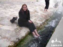 Las aguas termales de Pamukkale