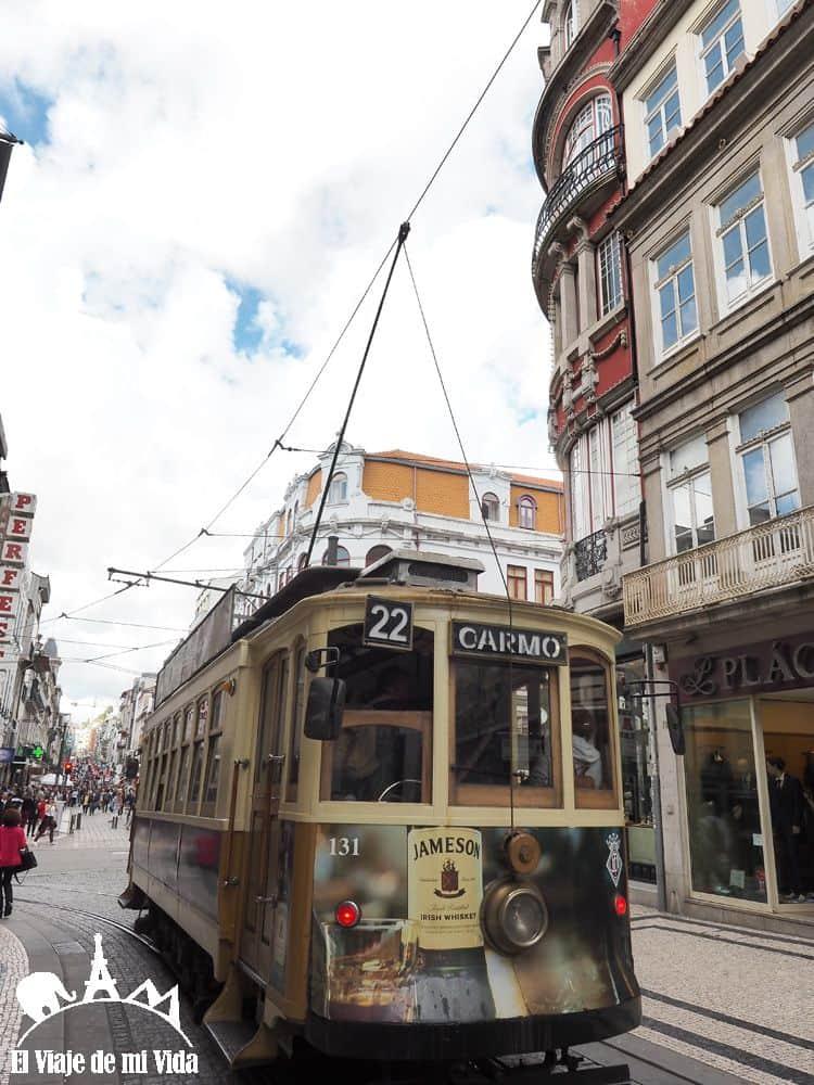 Tranvías de Oporto