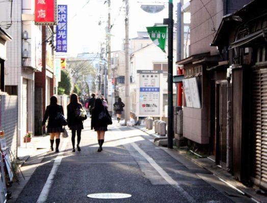 Barrio de Togoshikoen, Tokio