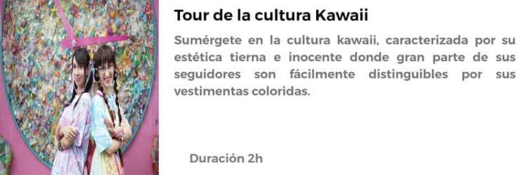 Tour de la cultura Kawaii