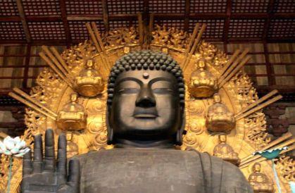 Buda Todai-ji Nara Japón