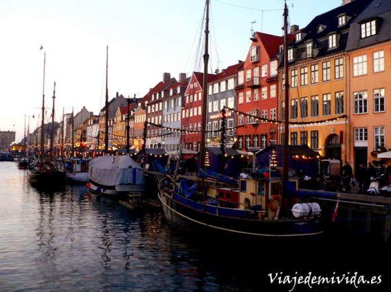 Nihavn Copenhague Dinamarca