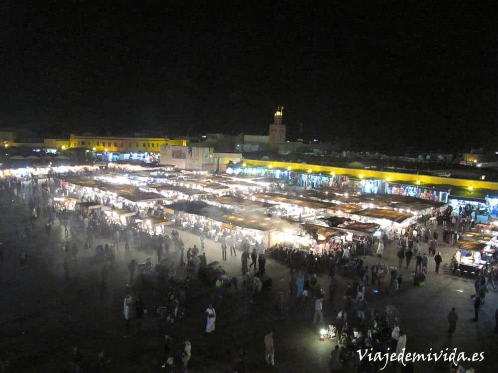 Plaza Yamaa el Fna Marrakech Marruecos