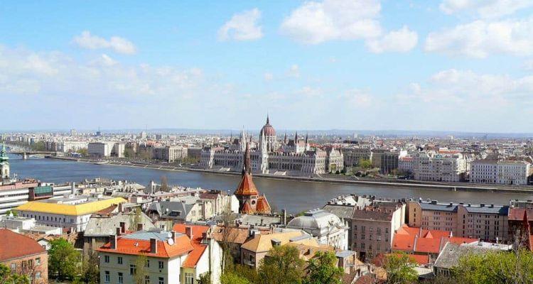 Colina Buda Budapest Hungría