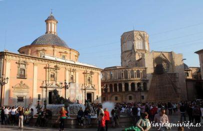 Plaza de la Seu Valencia Espana