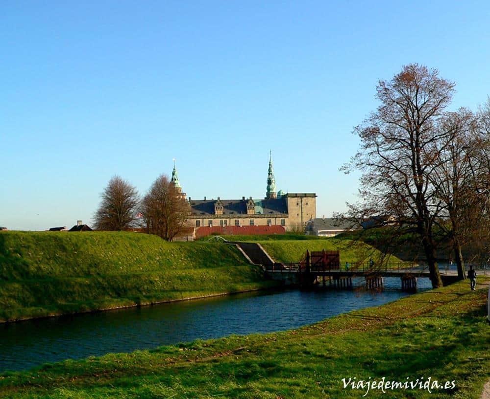 Kronborg Slot Dinamarca