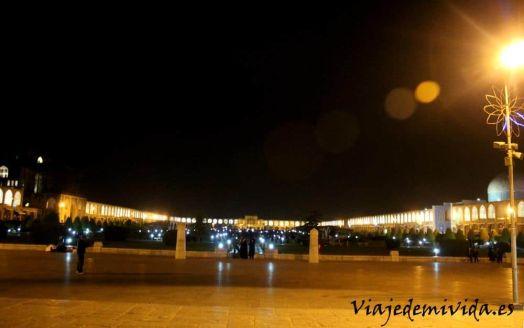 Imam Square Noche Isfahan Iran