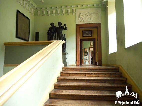Entrada de la Casa de Goethe