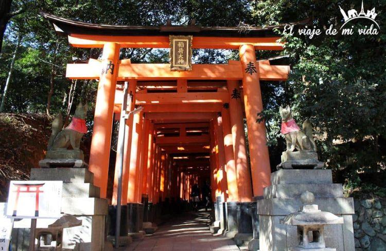Santuario Fushini-Inari Kioto Japón