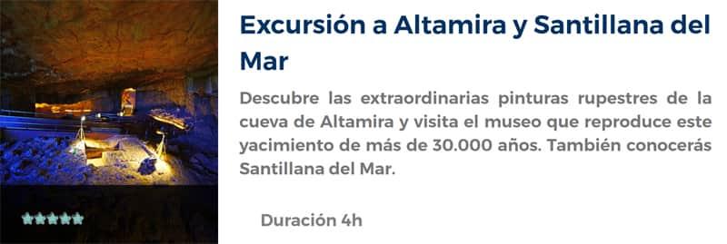 Excursión a Altamira y Santillana del Mar