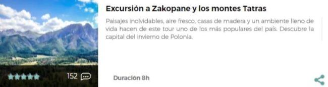Excursión a Zakopane