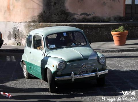 Coche de Época Sicilia Italia