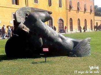 Angel Caido en Pisa