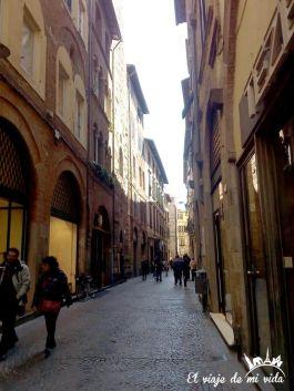 Calles de Lucca en la Toscana