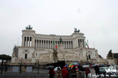Monumento nacional a Víctor Manuel II en Roma