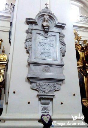 Ruta Chopin Varsovia Polonia