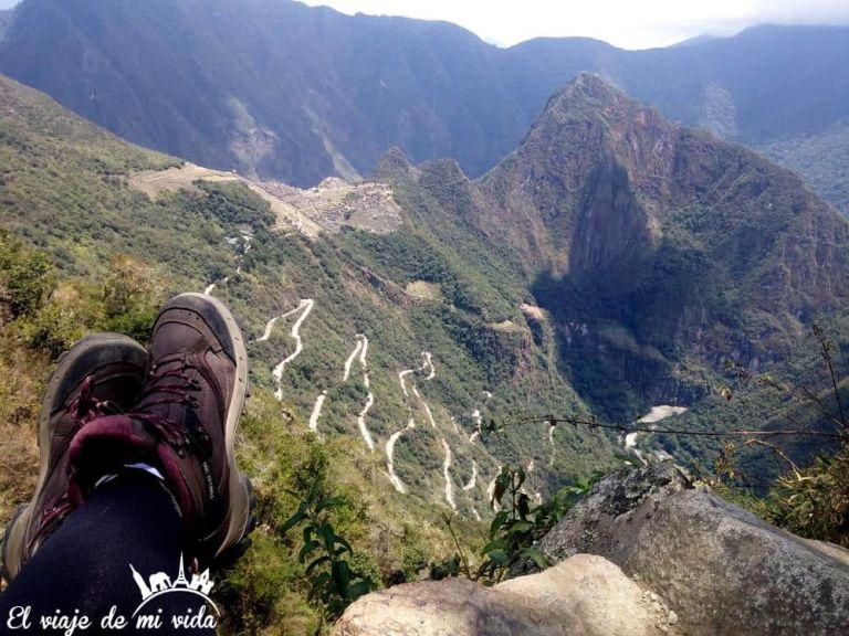 Vistas desde Machu Picchu, Peru