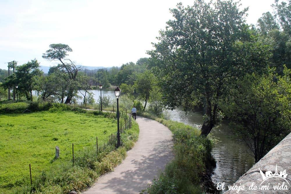 Paseo fluvial de Plasencia
