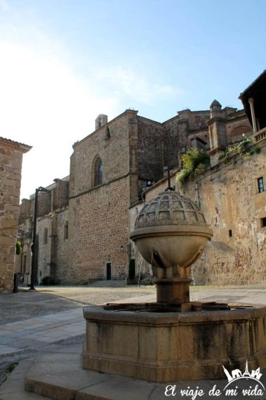 Plaza de San Vicente en Plasencia