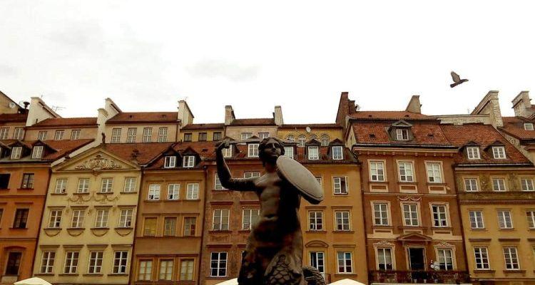 Sirena de Varsovia, Polonia