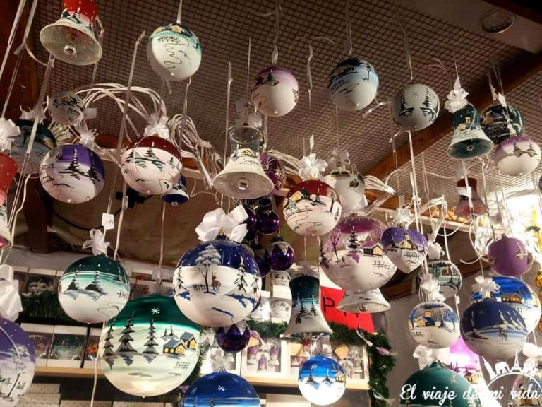 Adornos de los mercados de Navidad de Alemania